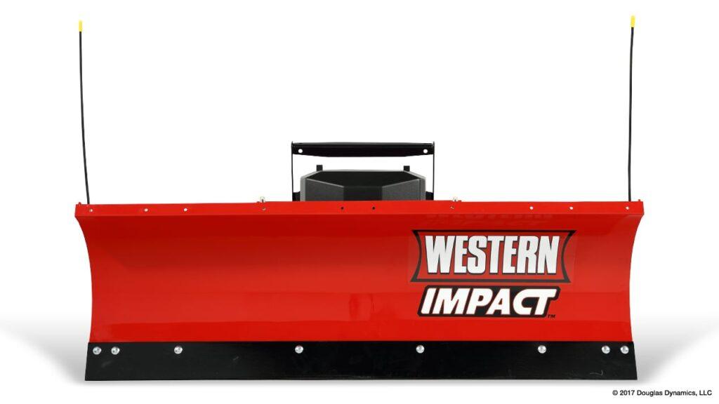 Western Impact UTV Plow